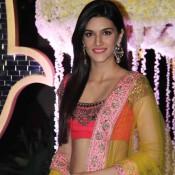 Kriti Sanon in Lehenga Choli – Ridhi Malhotra and Tejas Talwalkar Wedding Reception Images