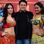 Humshakals Movie Promotion Pics at Sets of Hasee House on TV Show – 2014 Photos