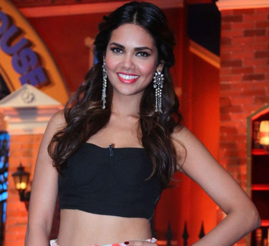 Esha Gupta Flower Long Skirt Images