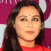 Rani Mukherjee in Red Dress Pics 2014 Images