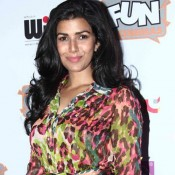 Nimrat Kaur Printed One Piece at The World Before Her Special Screening