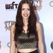 Kalki Koechlin in Black Lehenga Pics at The World Before Her Special Screening