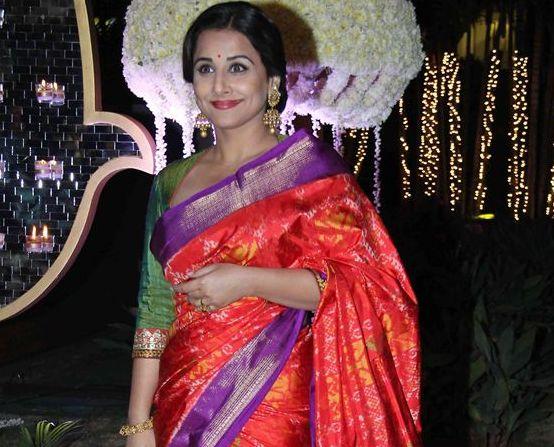 Vidya Balan At Rriddhi Malhotra And Tejas Talwalkar Wedding Reception