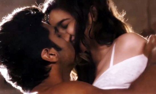 Alia Bhatt Hot Bed Scene Pics Bold Slipping Images in TWO STATES with Arjun Kapoor
