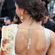 Dipeeka Padukone in Backless Blouse Photos – Hot Pics in Designer Backless Saree