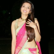 Kajal  Agarwal in Saree Pics – Hot Photos in Pink Yellow Saree
