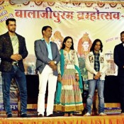 MAKAD JAALA Hindi Movie Team Promoting Movie at Betul in Madhya Pradesh