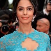 Mallika Sherawat Hot Pics in Blue lace Gown at 'Grace of Monaco' Festival de Cannes
