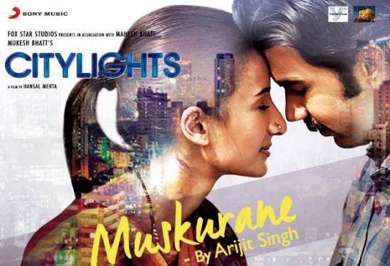 Muskurane Song Album from Citylights 2014 By Arijit Singh – Full Audio and Video are Free for Download
