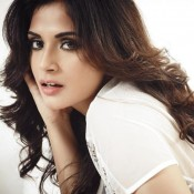 Richa Chadda Hot Pics in White Bikini for Fashion Magazine FHM India