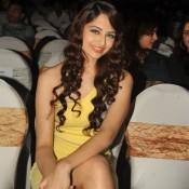 Zoya Afroz in Yellow Short Dress