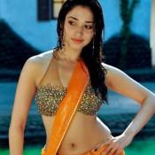 Tamanna Bhatia in Saree Pics – Hot Photos in Red Blue Orange Saree