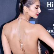 Vaani Kapoor Backless Pics in IIFA 2014 Awards 2014 at TAMPA Bay USA
