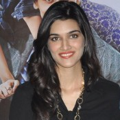 Kriti Sanon in Cute Smile Pics in Black Top 2014 Photos