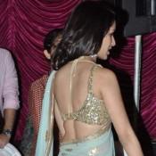 Shraddha Kapoor Hot Bare Back Photos in Saree