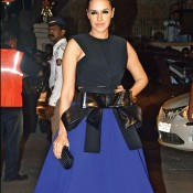 Neha Dhupia at 60th Britannia Filmfare Awards 2015