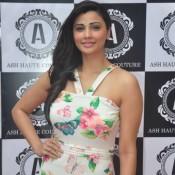 Daisy Shah Launch The Ash Haute Couture Store in Mumbai