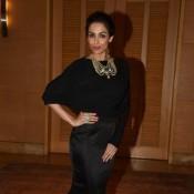 Malaika Arora Khan in Black Long Skirt at Brand Vision India 2020 Awards