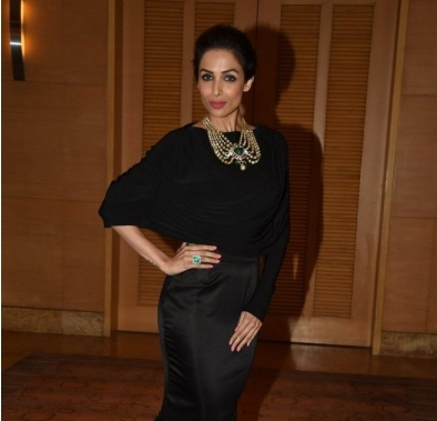 Malaika Arora Khan in Black Long Skirt at Brand Vision India 2020 Awards