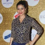 Tanishaa Mukerji at Harpers Bazaar Bride Anniversary Party