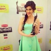 Kriti Sanon at 60th Britannia Filmfare Awards 2015