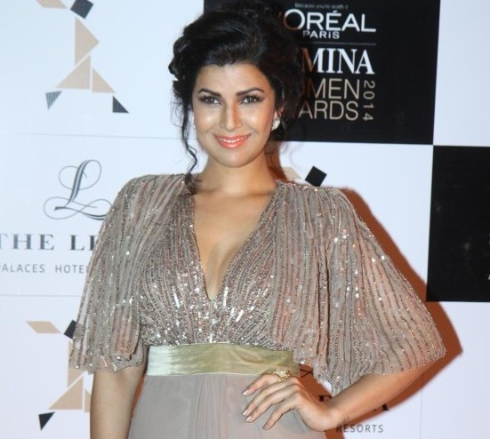 Nimrat Kaur at Loreal Paris Femina Woman Awards 2014