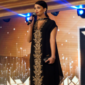 Aishwarya Rai in Black Dress at L'Oreal Paris Femina Women Awards 2015