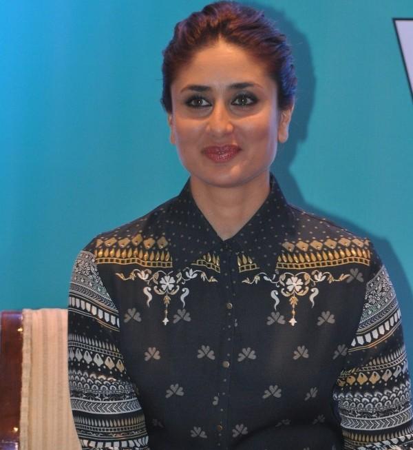 Kareena Kapoor in Yellow Pumps at Lunch of Book in Mumbai