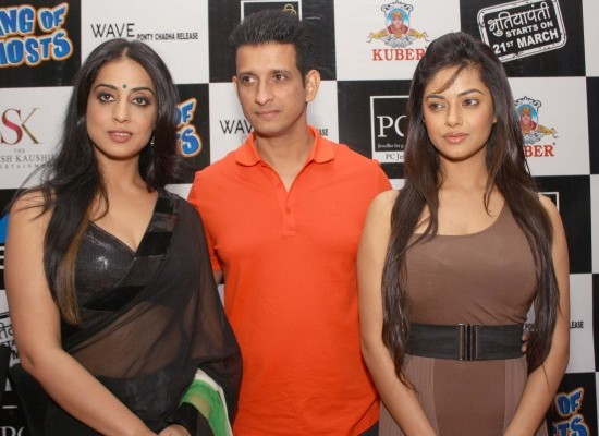 Gang of Ghosts Hindi Movie Team at Press Conference in New Delhi