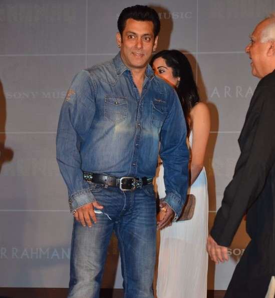 Salman Khan Launches Album Raunaq in Mumbai