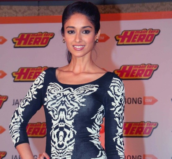 Ileana D'Cruz in Black Printed One Piece at Launches Jabong Fashion Collection
