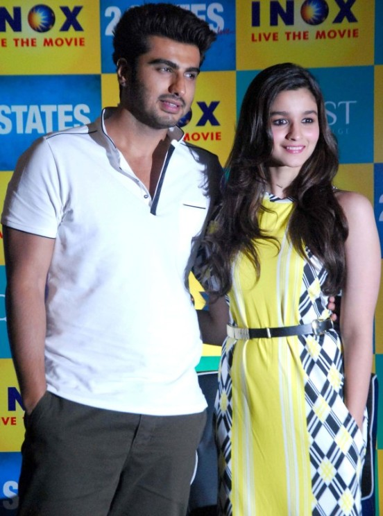 Alia Bhatt in Yellow Dress – 2 States Press Conference in Kolkata