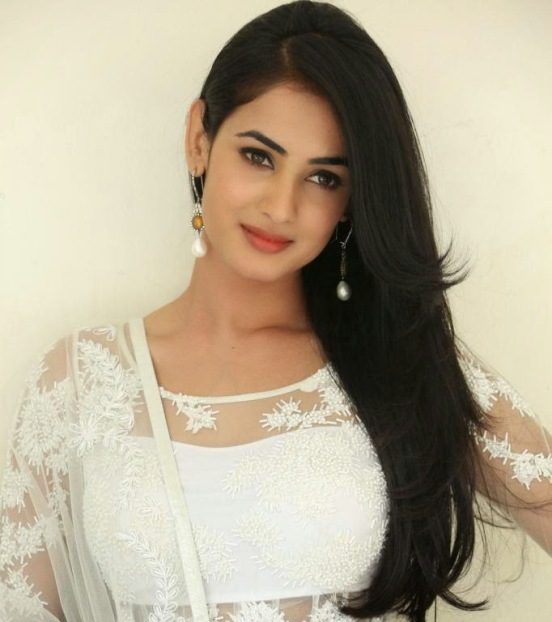 Sonal Chauhan in White Dress Hot Photoshoot Images