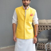 Jackky Bhagnani in Designer Men's Suit Collection with Different Colour for Political Look in 2014 Movie Youngistaan