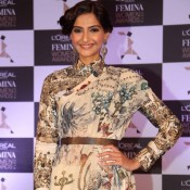 Sonam Kapoor during L'Oreal Paris Femina Women Awards 3rd Edition