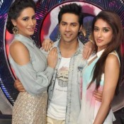 Main Tera Hero Movie Promotion on the Sets of Boogie Woogie