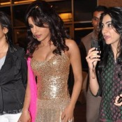 Rare Unseen Priyanka Chopra Extremely Hot Pics Very Bold Photos of Deep Cleavage in Exposing At Jai Maharashtra Channel Launch