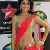 Shilpa Shetty Hot Navel Pics – Hot Images of Navel Show at Nach Baliye 6 Finale