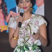 Sonam Kapoor in Short Skirts at Bewakoofiyan Promotion – Gorgeous in Dolce & Gabbana Outfit