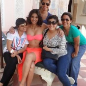 Sonam Kapoor in Bikini Real Life Photos