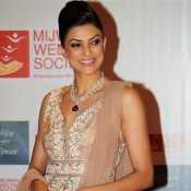 Sushmita Sen in Transparent Anarkali Dress at Men for Mijwan Fashion Show 2014