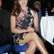 Telugu Actress Samantha Hot Thigh Show Pics Latest Bold Legs Photos in Very Short Dress