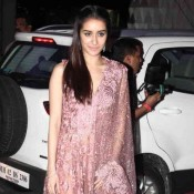 Shraddha Kapoor at Tulsi Kumar and Hitesh Ralhan Wedding Reception