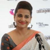 Vidya Balan in White Saree at IFFM 2014 Program Launch