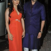 Youngistan Hindi Movie Actress Neha Sharma and Actor Jackky Bhagnani Promoting their Film in Comedy Circus