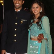 Ahana Deol and Vaibhav Vora's Grand Sangeet Ceremony Photos