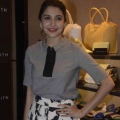 Anushka Sharma in Floral Skirt at Charles & Keith Store Launch