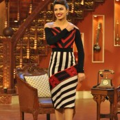 Priyanka Chopra at Comedy Night with Kapil with Ranveer Singh and Arjun Kapoor for Gunday Movie Promotion