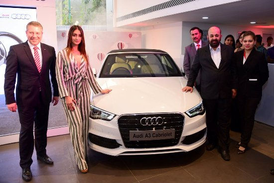 Actress Ileana D'Cruz Launch Audi Showroom in Guwahati ...