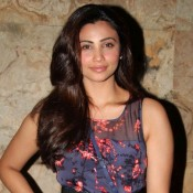 Daisy Shah at O Teri Hindi Movie Screening Photos